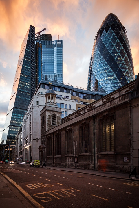 buildings - city of london